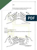 Finger Multiplications