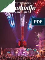Nashville Visitors Guide July-Dec 2013