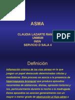 Fisiopatologia del Asma en Pediatria
