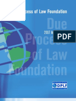 Due Process of Law Foundation
