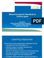 Measuring against Standards to