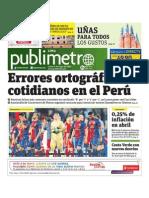 PP 020513 Publimetro - Publimetro - Portada - Pag 1