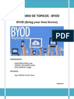 Primer Informe - Byod