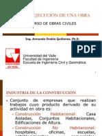 Clase 1 - Etapas de Una Obra Civil