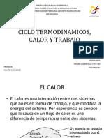 Ciclos Termodinamicos, Calor y Trabajo