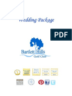 Bartlett Hills Wedding Package