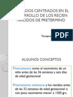 Cuidados Centrados en El Desarrollo de Los Rnpt 2012