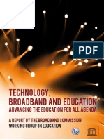 Broadband and Education Advancing the Education for All Agenda_UNESCO