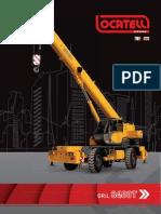 ERKE Group, Locatelli Gril 8400T Şehir içi Mobil Vinçler Kataloğu