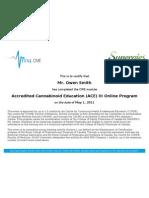 VitalCME Completion Report 10031