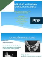 Diapositivas de Ley de Contravencion