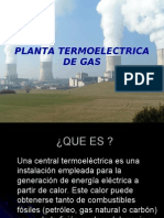 Plantas Electric As de Gas