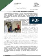 30/01/13 Germán Tenorio Vasconcelos ofrece Cessa de Tlalixtac Parto Vertical Humanizado