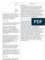 ASME B 30.23 Personal Plataformas Elevadoras