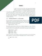 B.tech CS S8 Artificial Intelligence Notes Module 5