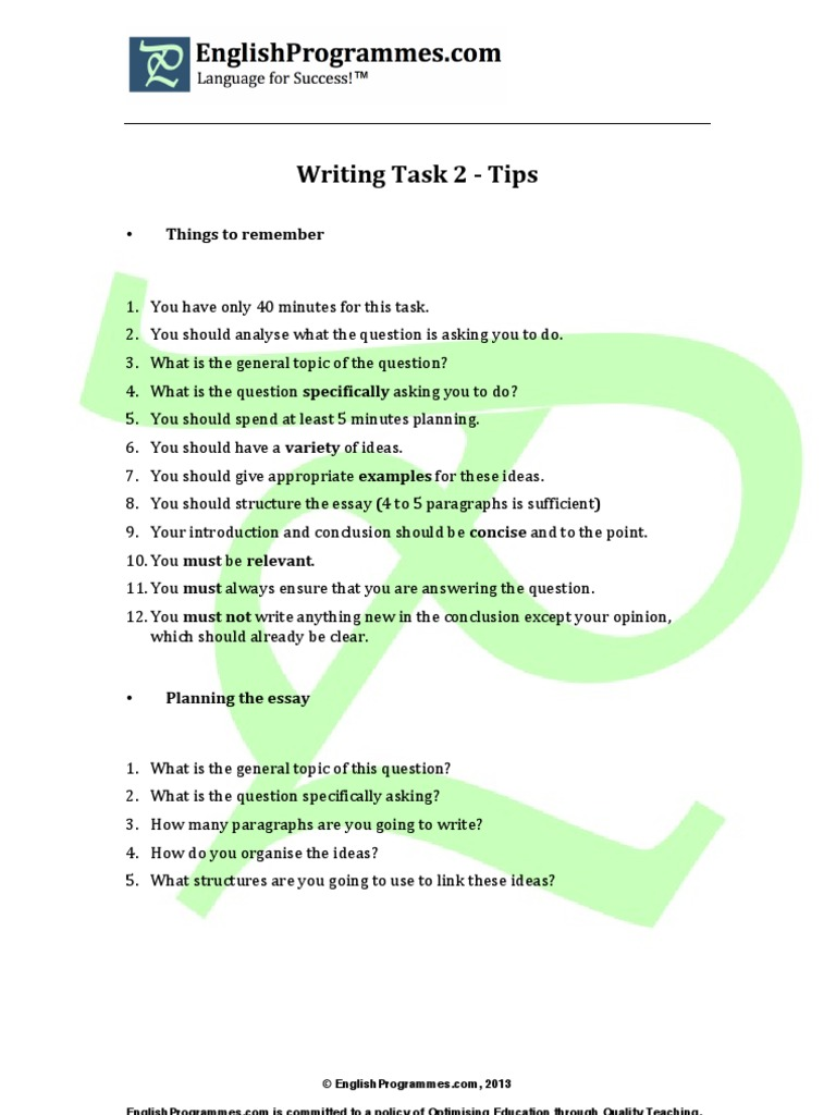 planning an ielts essay the 10 minute solution Ielts writing task 1   planning and prepositions practice  10 it is important to provide a conclusion at the end of the report  problem solution essay.