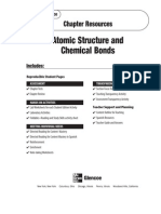 Atomic Structure & Chemical Bonds