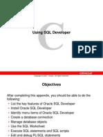 App C SQL Developer