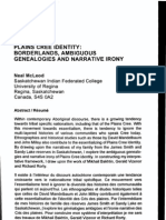 Plains Cree Identity