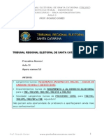 Direito Eleitoral - Aula 03