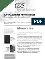 La valeur des petites idées.pdf
