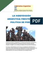 LA INDEFENSIÓN ARGENTINA FRENTE A LA POLITICA DE PODER.docx