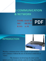 Wireless & Comunication Network