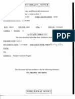 T5 B37 K Moore for 9-3 Fdr- 5 Withdrawal Notice Re Passport FBI Memo NSPD-8 State INS USCS