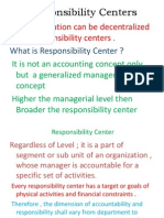 Responsibility Centers .Doc