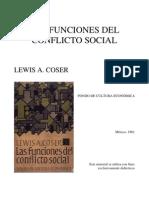U3.3-Coser Funciones Del Conflicto Social