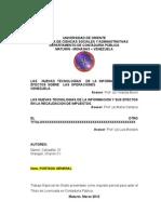 Estructura Modelo Propuesta,Informe Areas (1)