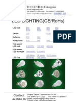 Catalogue of LED Lighting