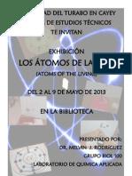 Flyers Exhibicion Biol. 100
