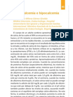 5. Hipercalcemia e Hipocalcemia