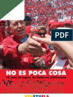 10 Anos de Logros Del Gobierno Bolivariano Fidelvasquez