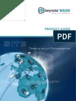 Keynote SIGOS Product Portfolio