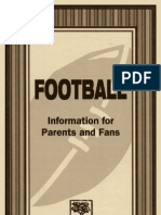 Football - Information for High School Parents and Fans