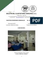 Boletín Rotario del 30 de abril de 2013
