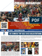 Devil Comics Entertainment Magazine May 2013