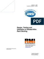 ANSI MH26.2 – 2007_Design,testing and utilization of weldwd-mire rack decking_WIRE DECK RMI