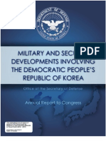 Pentagon North Korea Report