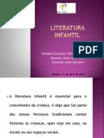 Literatura Infantil apresentação
