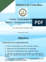 CQCR Toxicología  Modulo 1.ppt