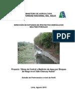 Informe Principal Chancay Huaral