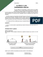 1º cap 1 La fisica y los fenomenos fisicos