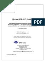 MEC1005 Cytokine ELISA kit Mouse MCP-1 (96 tests × 2/6)