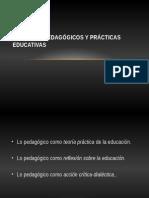 PROCESOS PEDAGÓGICOS Y PRÁCTICAS EDUCATIVAS