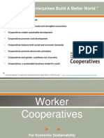 Worker Cooperatives for Economic Sustainability