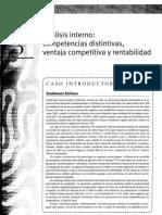 Analisis Interno Competencias Distintivas Ventaja Competiva y Rentabilidad