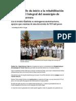 01-05-2013 Puebla Noticias - Moreno Valle da inicio a la rehabilitación del Hospital Integral del municipio de Vicente Guerrero